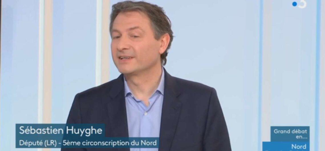 Sébastien Huyghe dans Dimanche en politique sur France 3 Hauts-de-France